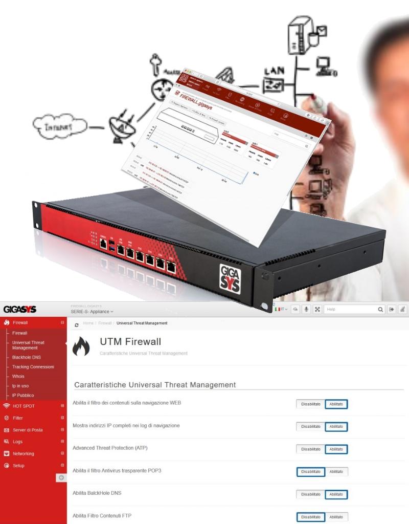 Tecno3 – sicurezza informatica Gigasys